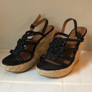 Mia Knotted Rope Wedges - Size 7.5
